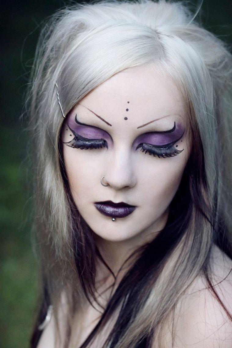 maquillage halloween femme je vous donne des id es pour viter la panne d 39 inspiration. Black Bedroom Furniture Sets. Home Design Ideas
